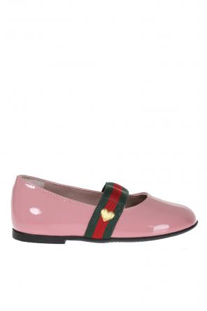Leather ballet flats od Gucci Kids